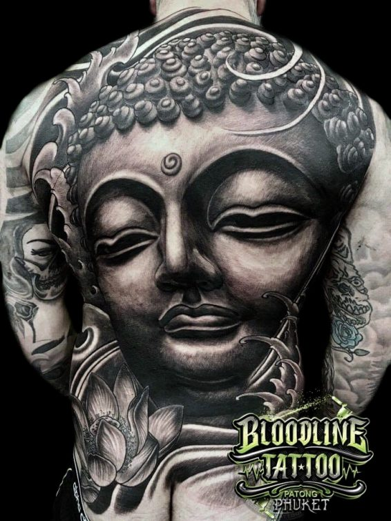 Japanese Buddha Tattoo Design