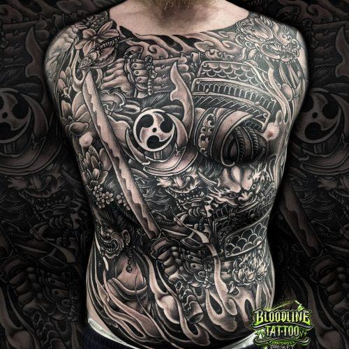 samurai.front.tattoo